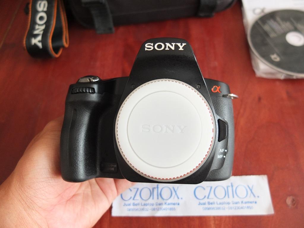 Jual Beli Laptop Kamera   surabaya   sidoarjo   malang   gersik   krian   Sony A290 Kit 18-55mm