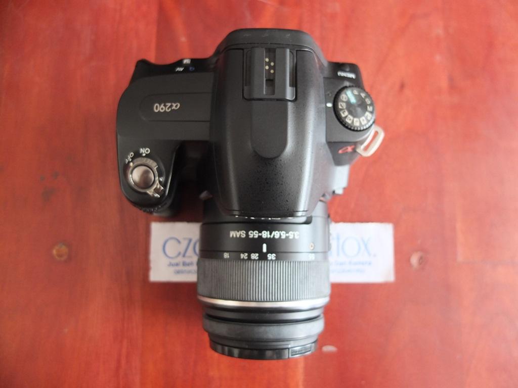 Jual Beli Laptop Kamera | surabaya | sidoarjo | malang | gersik | krian | Sony A290 Kit 18-55mm