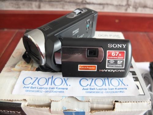 Handycam SONY DCR PJ5E Camcorder with Projector | Jual Beli Kamera Surabaya