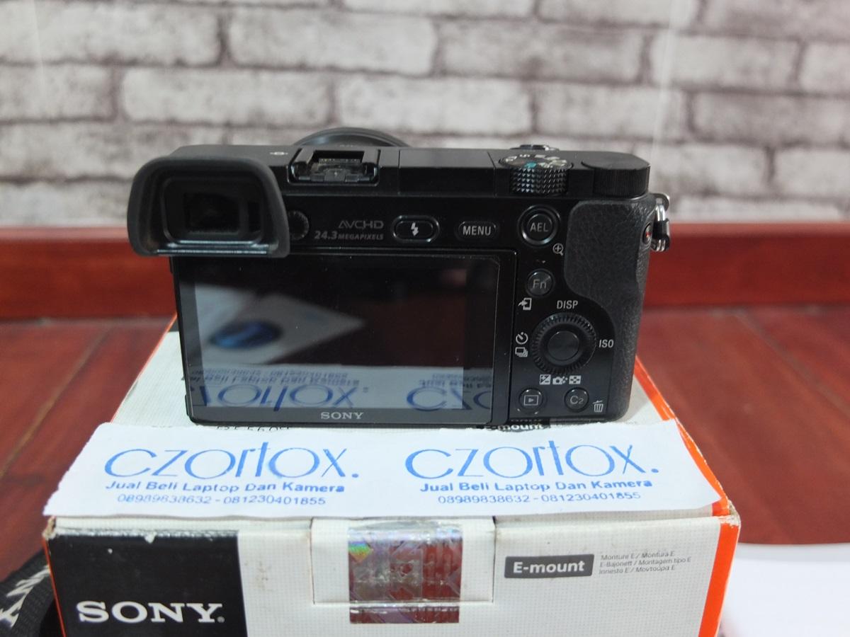 Jual Beli Laptop Kamera   surabaya   sidoarjo   malang   gersik   krian   Sony A6000 Kit 16-50mm OSS