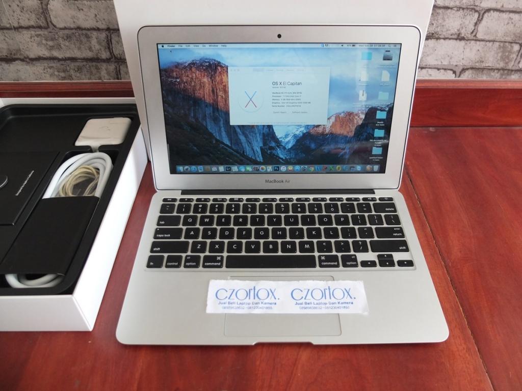 Jual Beli Laptop Kamera | surabaya | sidoarjo | malang | gersik | krian | macbook Air 11 Core i7 SSD 256gb