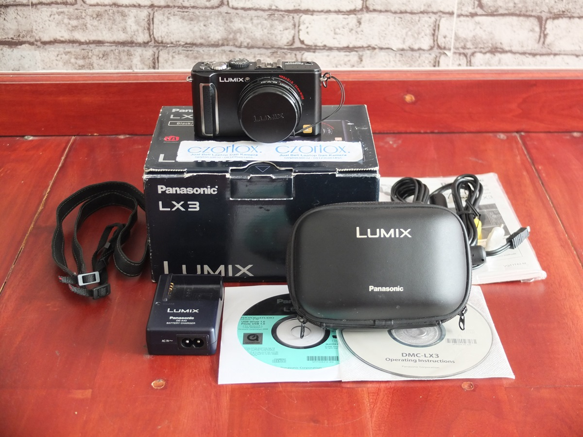 Jual Beli Laptopa Kamera   surabaya   sidoarjo   malang   gersik   krian   Lumix DMC LX3