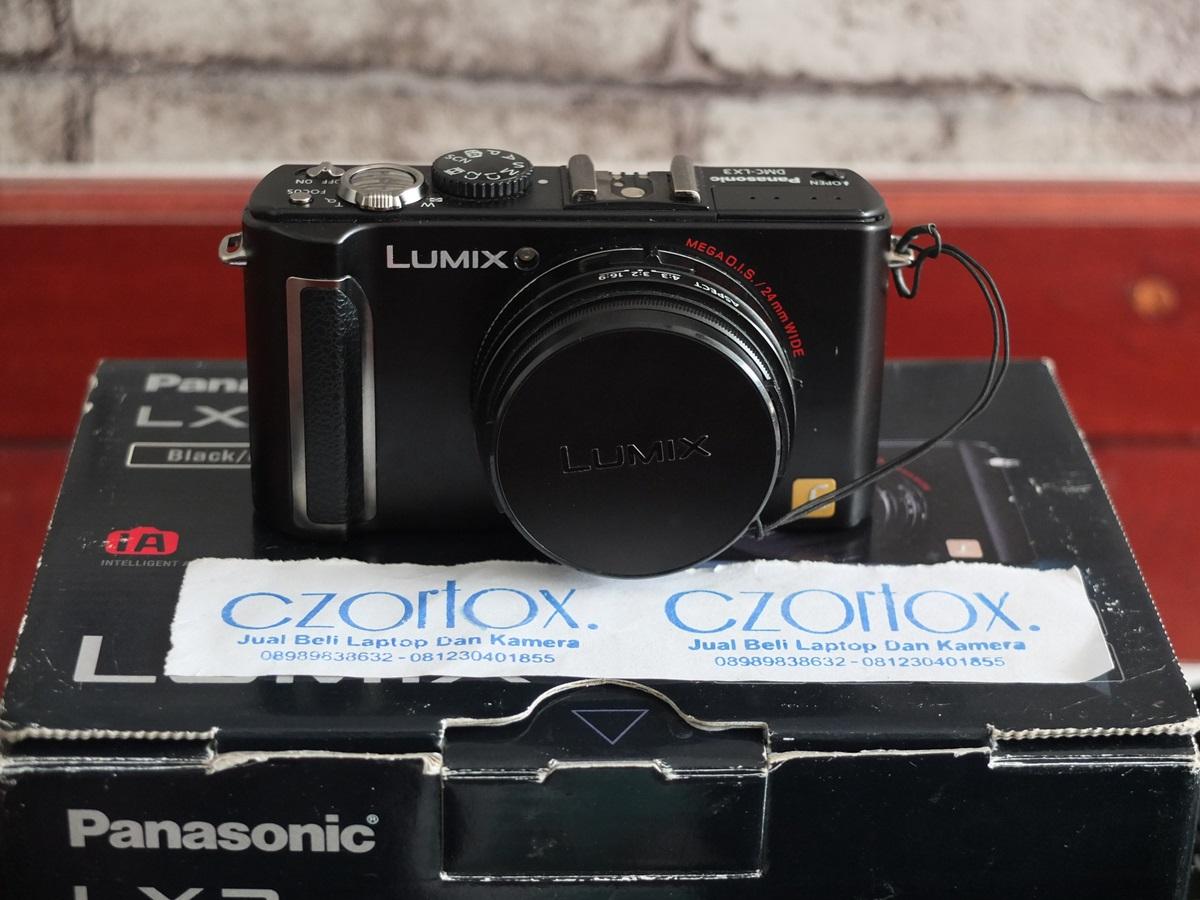 Jual Beli Laptopa Kamera | surabaya | sidoarjo | malang | gersik | krian | Lumix DMC LX3