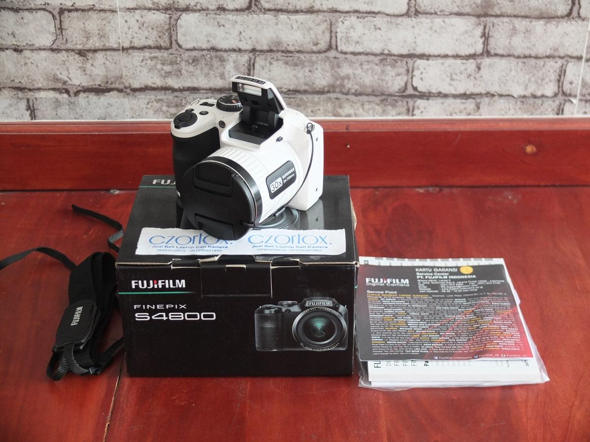 Jual Beli Laptop Kamera   surabaya   sidoarjo   malang   gersik   krian   Fujifilm finePix S4800 30x Zoom