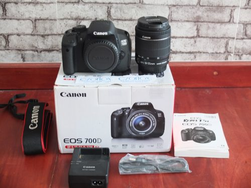 Canon 700D Kit 18-55mm STM SC minim 2.xxx | Jual Beli Kamera Surabaya