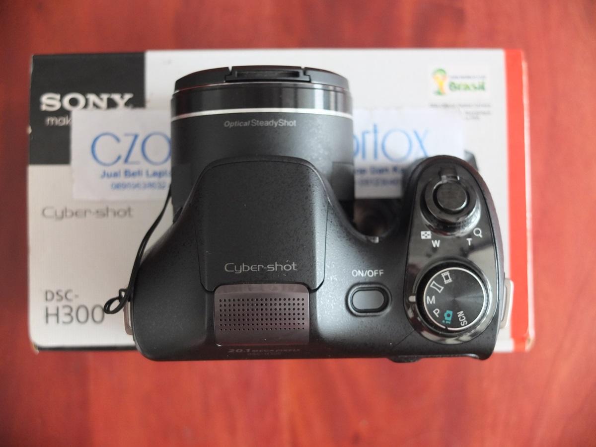 Jual Beli Laptop Kamera | surabaya | sidoarjo | malang | gersik | krian | Sony DSC H300