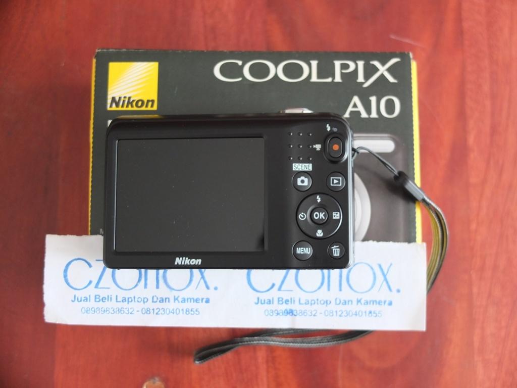 Jual Beli Laptop Kamera | surabaya | sidoarjo | malang | gersik | krian | Nikon Coolpix A10