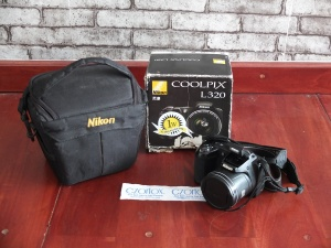 Nikon L320 With Zoom Optical 26x | Jual Beli Kamera Surabaya