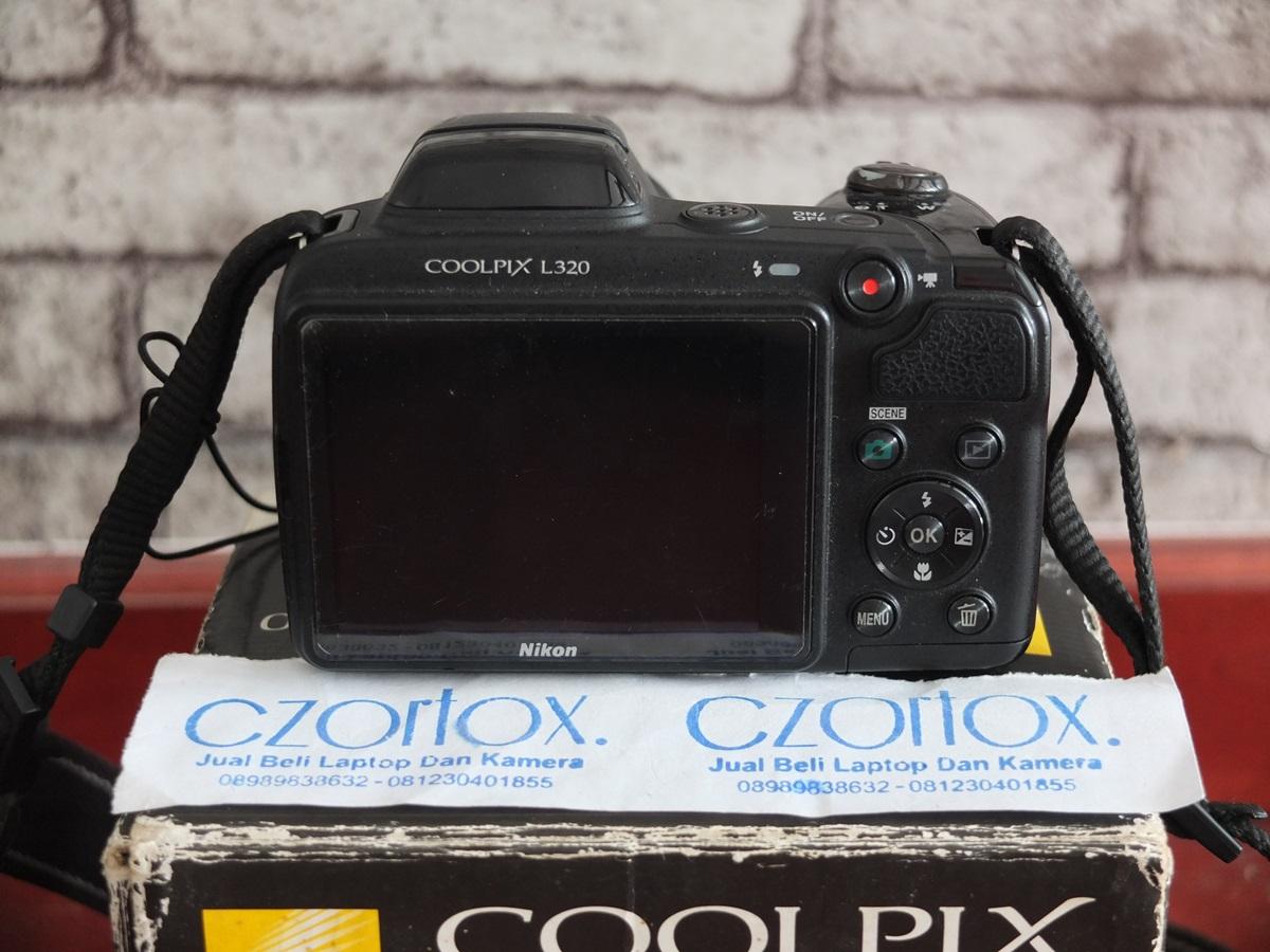Jual Beli Laptop Kamera | surabaya | sidoarjo | malang | gersik | krian | Nikon Coolpix L320