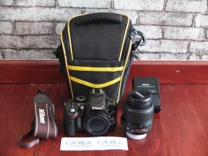 Nikon D5200 Kit 18-55mm SC 600 | Jual Beli Kamera Surabaya