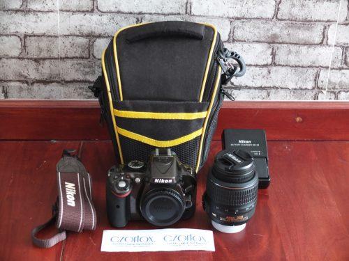 Nikon D5200 Kit 18-55mm SC 600   Jual Beli Kamera Surabaya