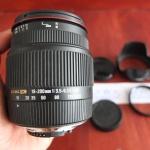 Lensa Sigma 18-200mm f/3.5-6.3 II DC Lens for Nikon