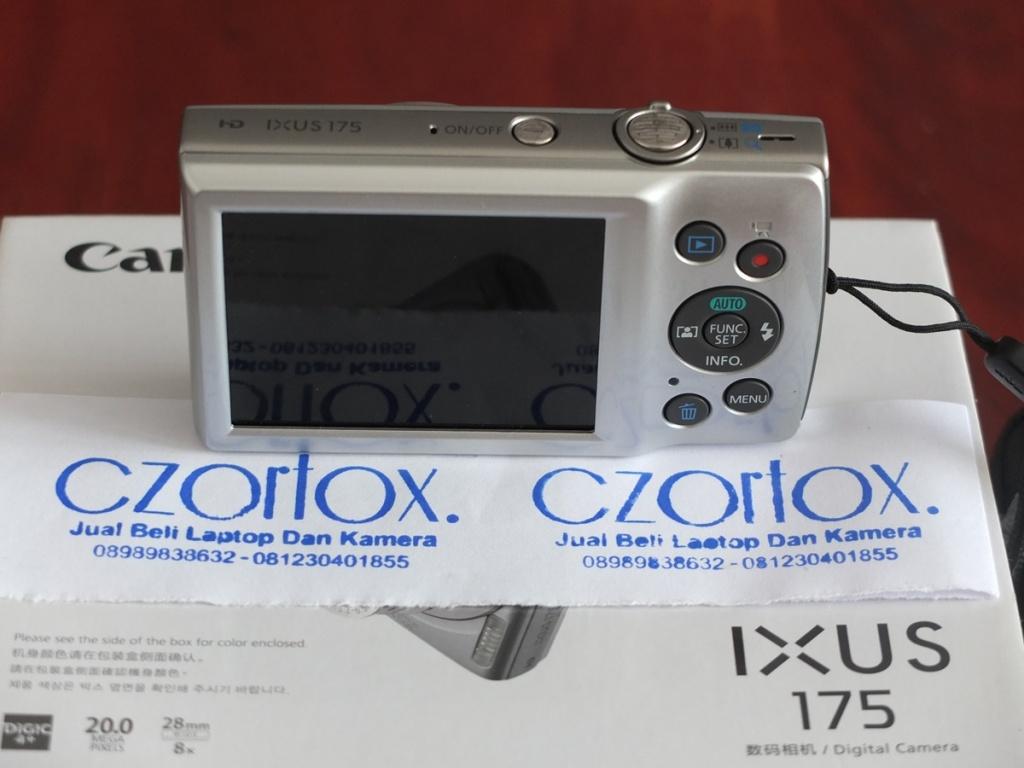 Jual Beli Laptop Kamera | surabaya | sidoarjo | malang | gersik | krian | Canon Ixus 175
