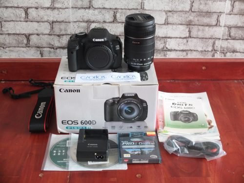 Canon 600D Kit 18-135mm SC 14.xxx   Jual Beli Kamera Surabaya