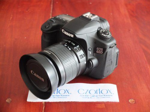 Canon 60D Kit 18-55mm istimewa SC 6.xxx   Jual Beli Kamera Surabaya