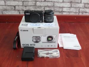 Canon M10 Kit 15-45mm STM Garansi Sampe Juni 2019 | Jual Beli kamera Surabaya