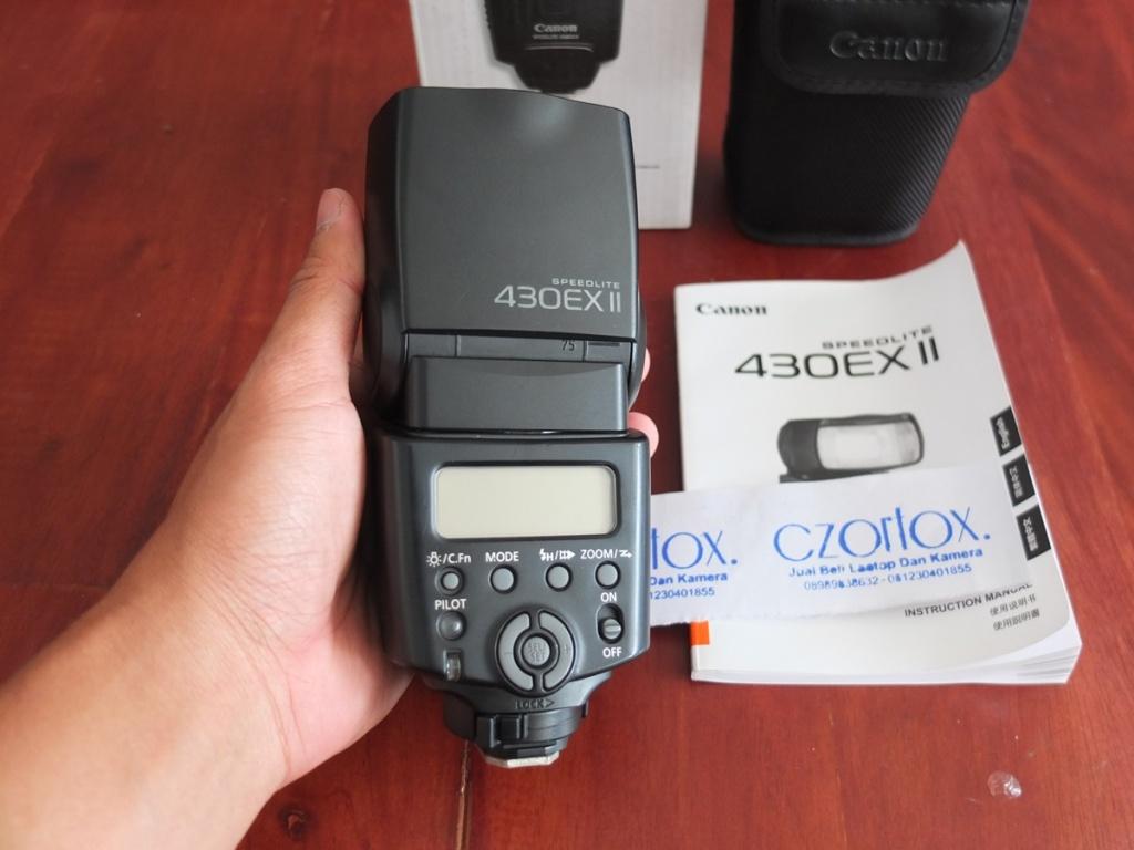 Jual Beli Laptop Kamera | surabaya | sidoarjo | malang | gersik | krian | Canon SpeedLite 430 EX II