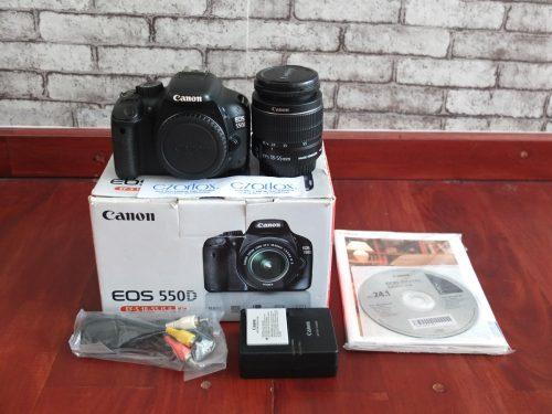 Canon 550D Kit 18-55mm  | Jual Beli Kamera Surabaya