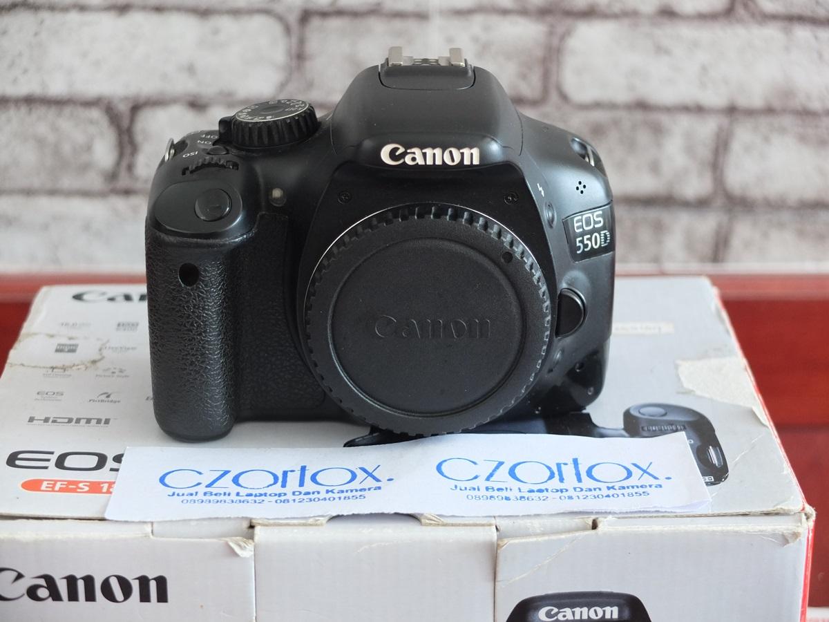 Jual Beli Laptop Kamera | surabaya | sidoarjo | malang | gersik | krian | Canon 550D