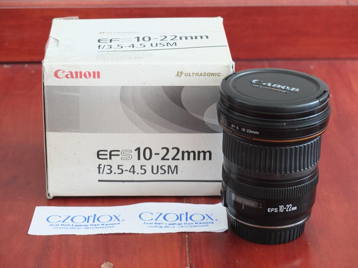 Jual Beli Laptop Kamera | surabaya | sidoarjo | malang | gersik | krian | Canon 10-22mm
