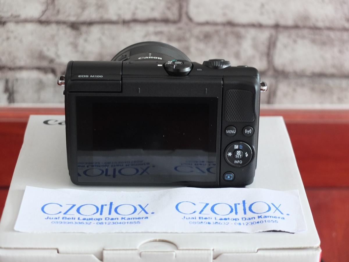 Jual Beli Laptop Kamera   surabaya   sidoarjo   malang   gersik   krian   Canon M100