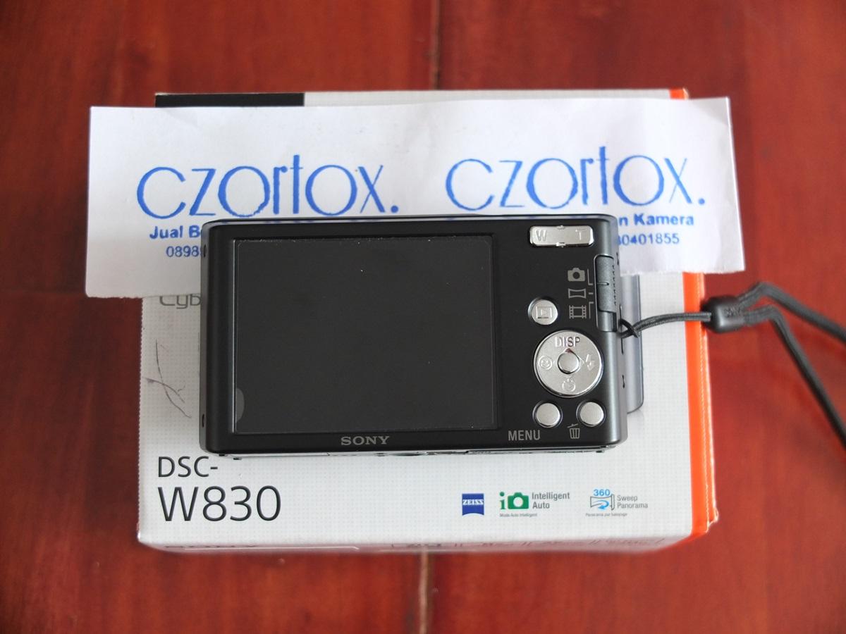 Jual Beli Laptop Kamera | surabaya | sidoarjo | malang | gersik | krian | Sony Cycbershoot w830