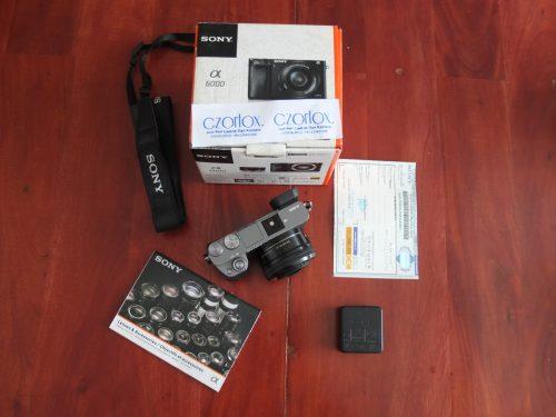 Sony A6000 Lensa 16-50mm OSS Grey Garansi Sampe Juli 2019 | Jual Beli Kamera Surabaya