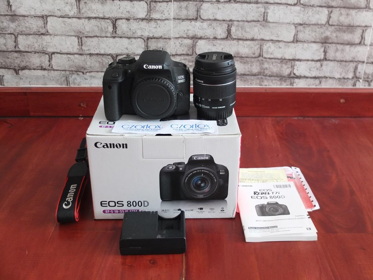 Jual Beli Laptop Kamera | surabaya | sidoarjo | malang | gersik | krian | Canon 800D