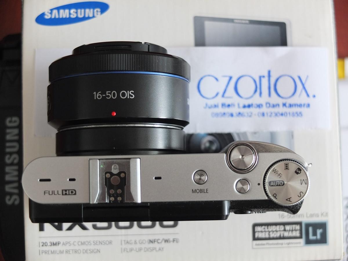 Jual Beli Laptop Kamera | surabaya | sidoarjo | malang | gersik | krian | Samsung NX3000