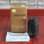 Lensa Nikon 55-200mm VR | Jual beli Kamera Surabaya