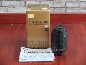 Lensa Nikon 55-200mm VR   Jual beli Kamera Surabaya