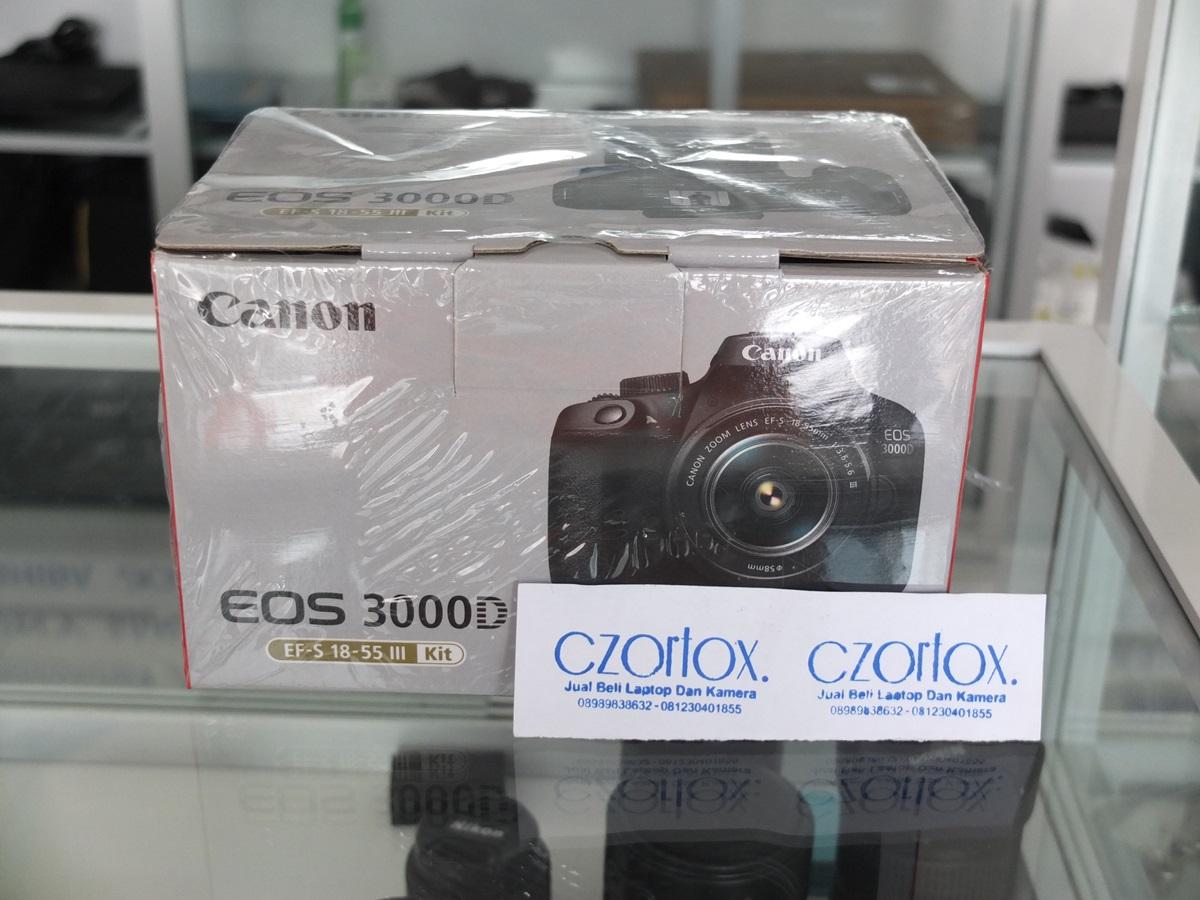 Jual Beli Laptop Kamera | surabaya | sidoarjo | malang | gersik | krian | Canon 3000D