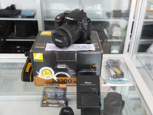 Nikon D3300 Kit 18-55mm VR2 SC 4.xxx   Jual beli Kamera Surabaya