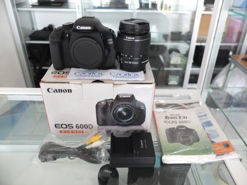 Canon 600D Kit 18-55mm Istimewa  SC 7.xxx | Jual Beli Kamera Surabaya