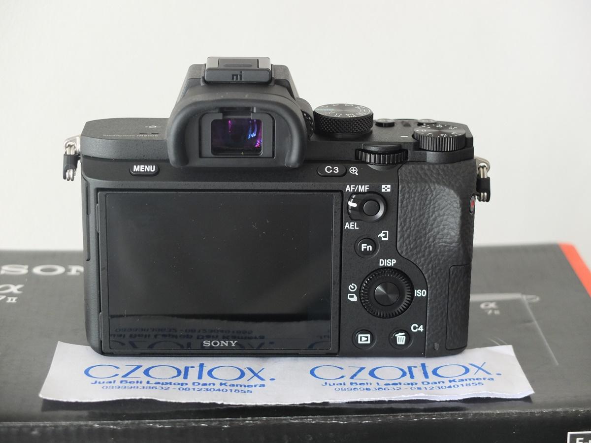 Jual Beli Laptop Kamera | surabaya | sidoarjo | malang | gersik | krian | Sony A7 II Kit 28-70
