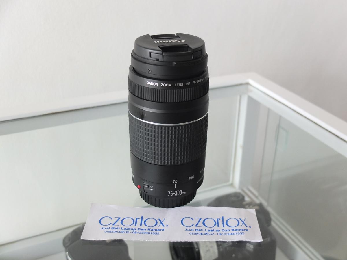 Jual Beli Laptop Kamera | surabaya | sidoarjo | malang | gersik | krian | Lensa Canon 75-300mm