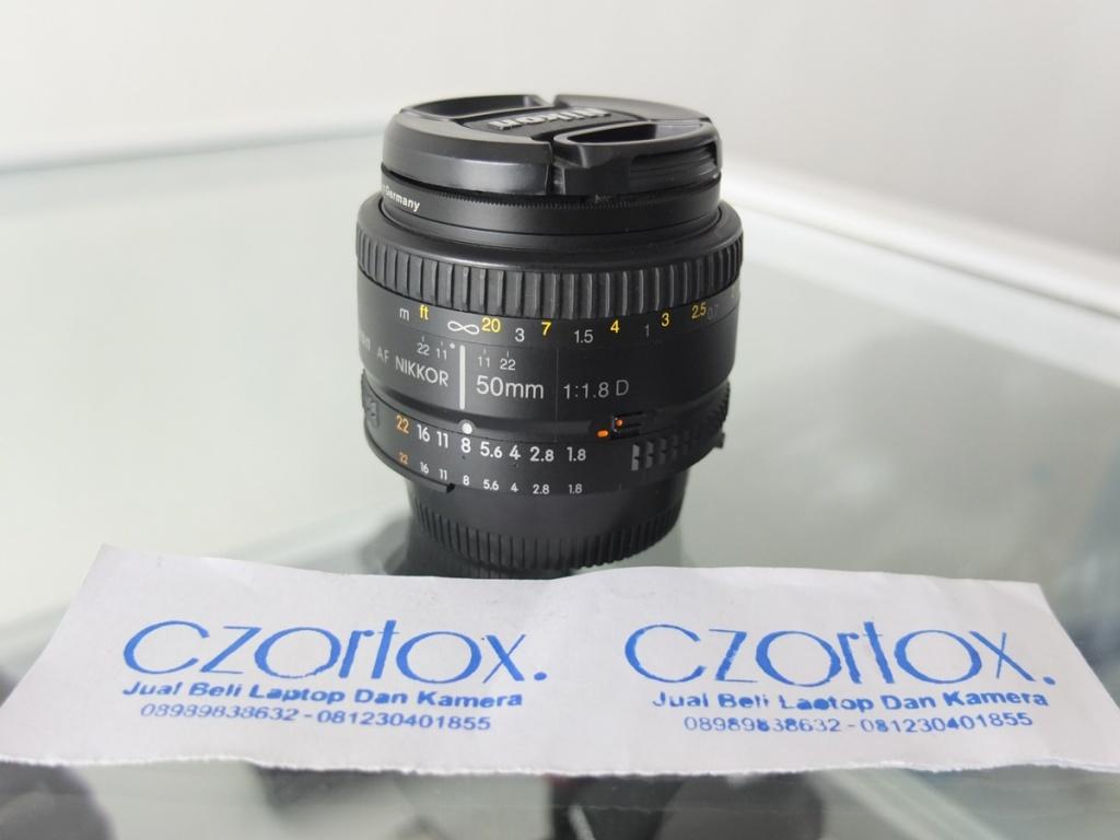 Jual Beli Laptop Kamera | surabaya | sidoarjo | malang | gersik | krian | Lensa Nikon AFD 50mm f1.8
