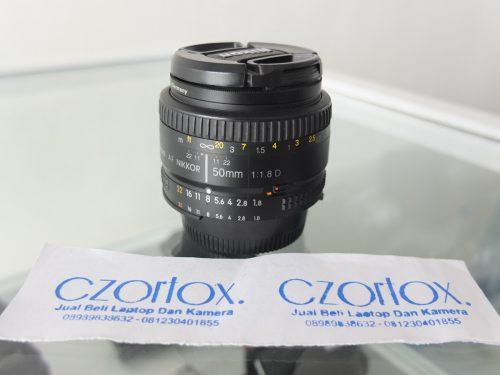 Lensa Nikon AFD 50mm F1.8   Jual Beli Kamera Surabaya