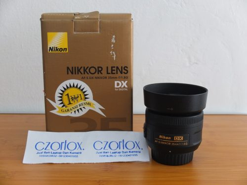 Lensa Nikon AF-S 35mm F/1.8G   Jual Beli Kamera Surabaya