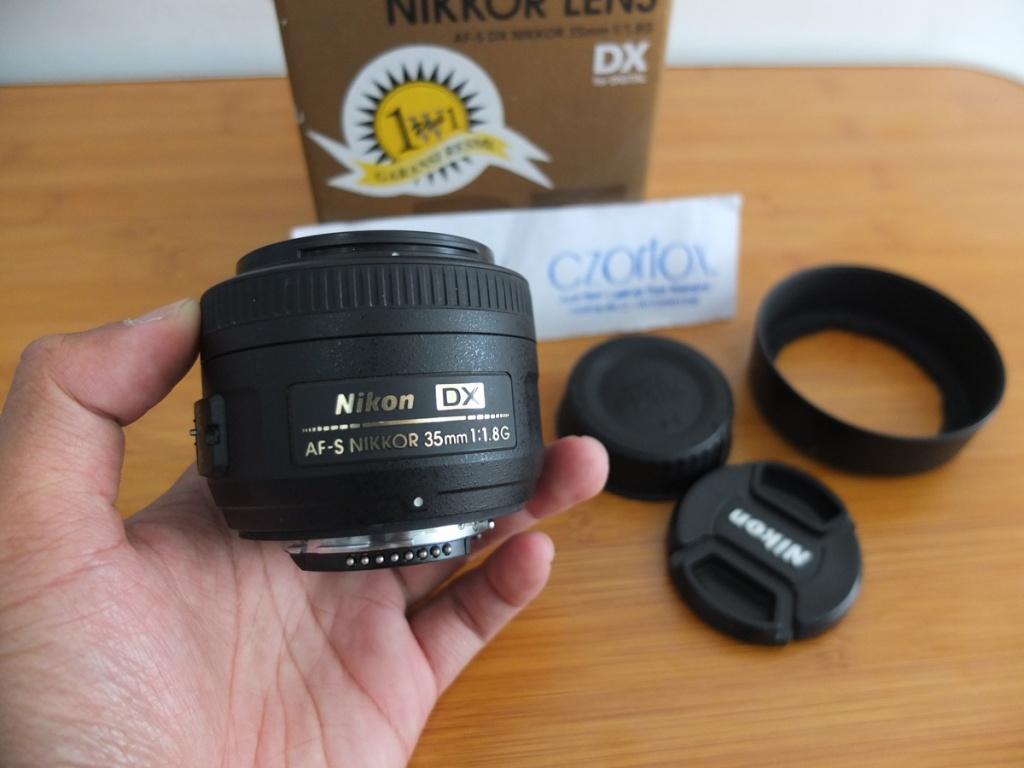 Jual Beli Laptop Kamera | surabaya | sidoarjo | malang | gersik | krian | Lensa nikon 35mm F1.8G