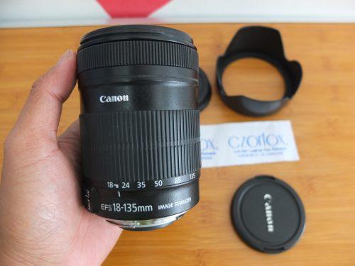 Lensa Canon 18-135mm Optic Bersih | Jual Beli Kamera Surabaya