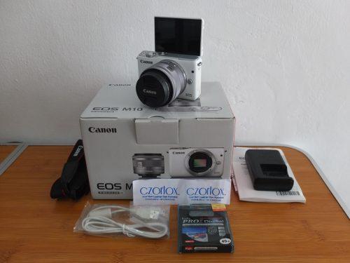 Canon M10 Kit 15-45mm STM | Jual Beli kamera Surabaya