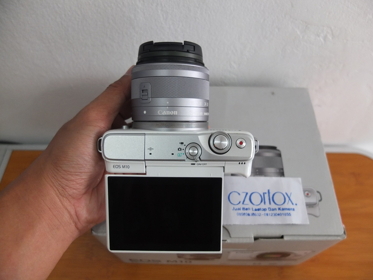 Jual Beli Laptop Kamera   surabaya   sidoarjo   malang   gersik   krian   Canon M10