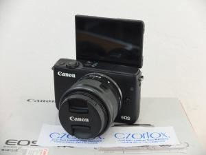 Canon M10 Kit 15-45mm STM Black Istimewa | Jual beli Kamera Surabaya