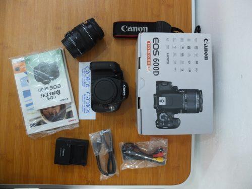 Canon 600D Kit 18-55mm Istimewa SC 2.xxx | Jual Beli Kamera Surabaya
