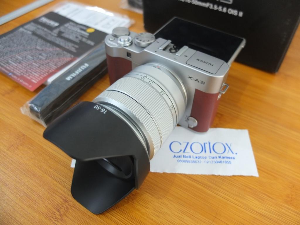 Jual Beli Laptop Kamera | surabaya | sidoarjo | malang | gersik | krian | Fujifilm XA3