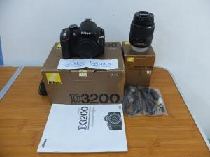 Nikon D3200 Kit 18-55mm DX SC 3.xxx   Jual Beli Kamera Surabaya