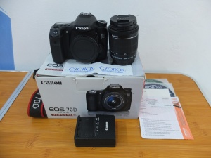Canon 70D kit 18-55mm STM SC 8.xxx Istimewa | Jual beli Kamera Surabaya