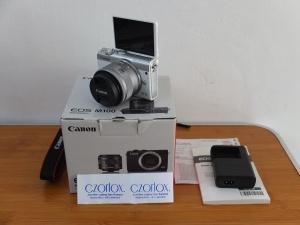 Canon M100 Kit 15-45mm STM Garansi   Jual Beli Kamera Surabaya