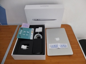 Macbook Air MJVM2 Core i5 Pembelian 2018 Cycle Count 22 | Jual Beli Laptop Surabaya
